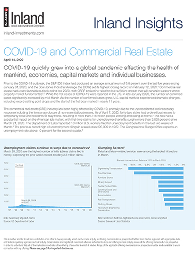 COVID-19 and Commercial Real Estate
