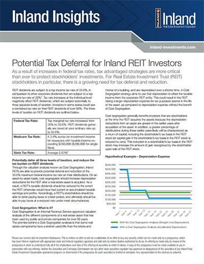 Inland Insights: Potential Tax Deferral