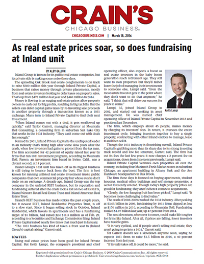 As Real Estate Prices Soar, So Does Fundraising